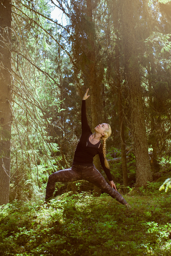 Metsäjooga / Forest yoga / Digitrail