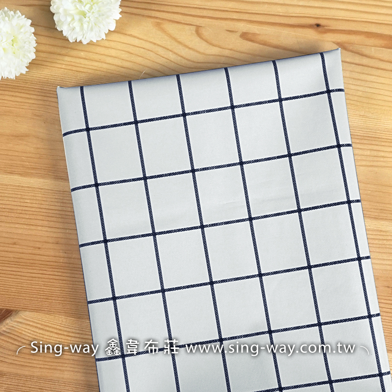 格子 線條 方格 正方形 素面居家風 文青簡約小清新 外出墊 防髒抗污 防潑水 防水桌巾布 H900007