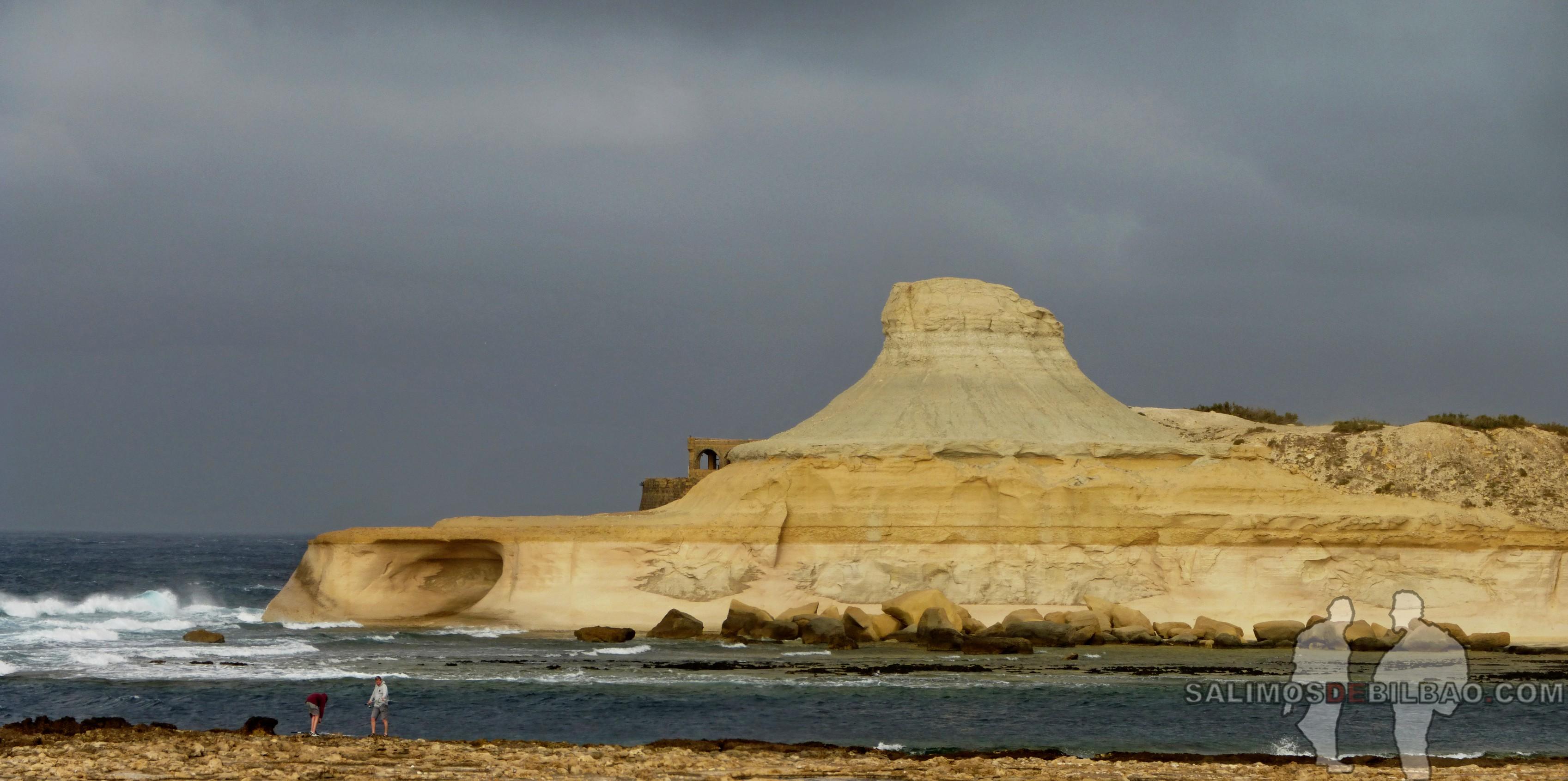 0445. Pano, Xwejni Bay, Gozo