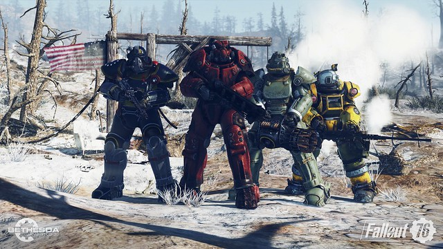 #E3 2018 Fallout 76 Screens