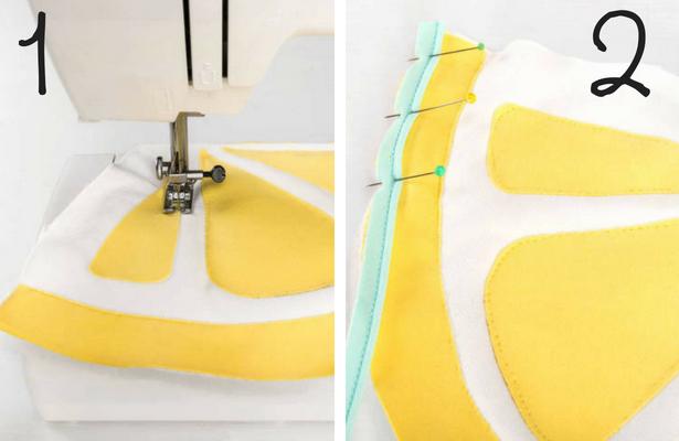 Lemon Bag Steps 1 2