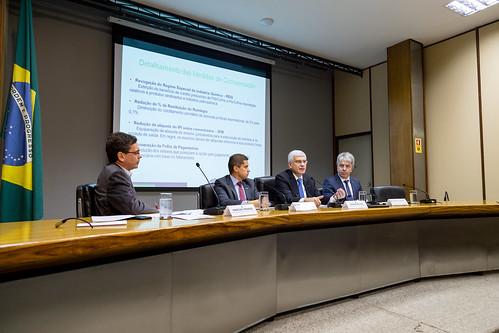 31/05/2018 Entrevista coletiva sobre medidas fiscais referentes ao programa de subvenção para redução no preço do diesel