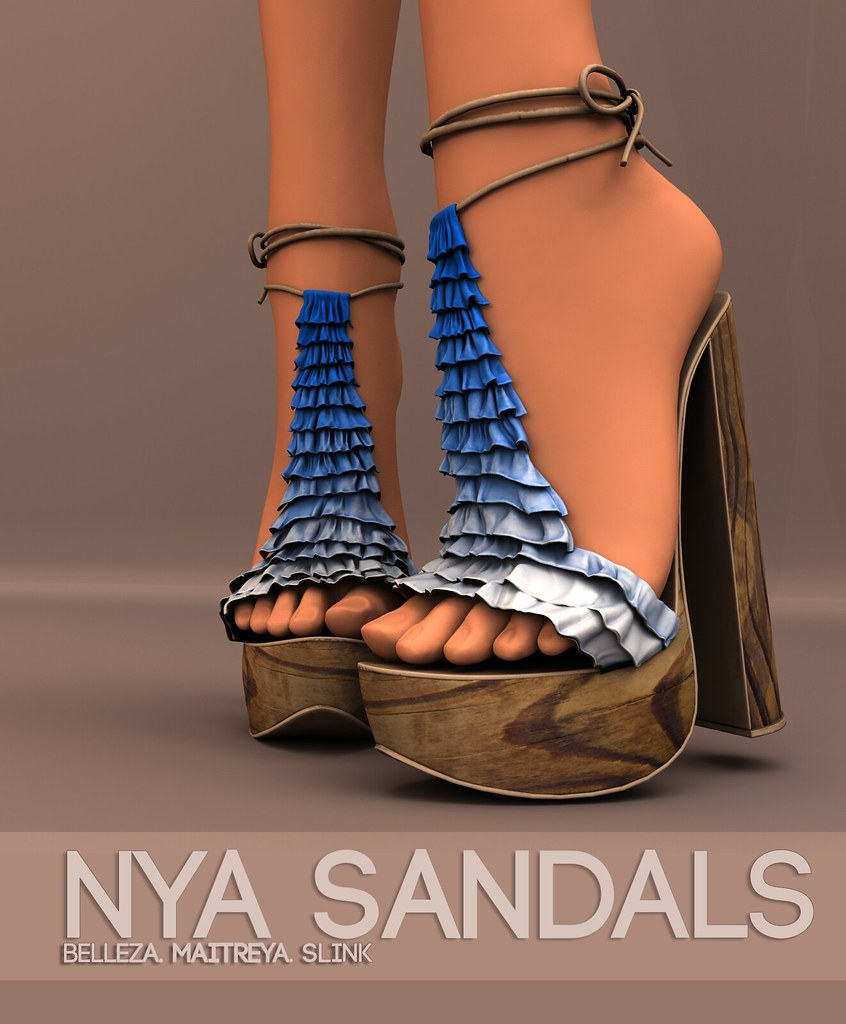 Pure Poison – Nya Sandals AD