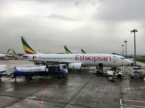 Ethiopian Airlines 737 @ ADD