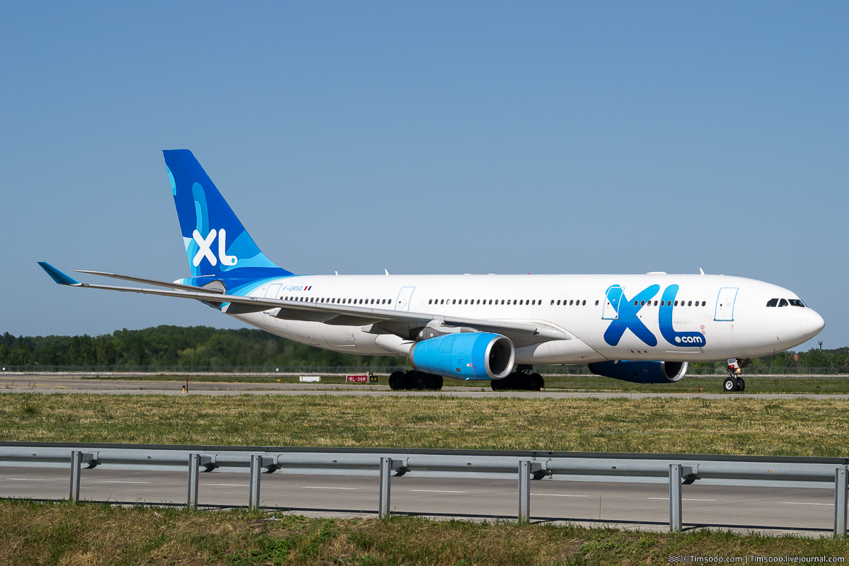 Airbus A330-200 F-GRSQ XL Airways France