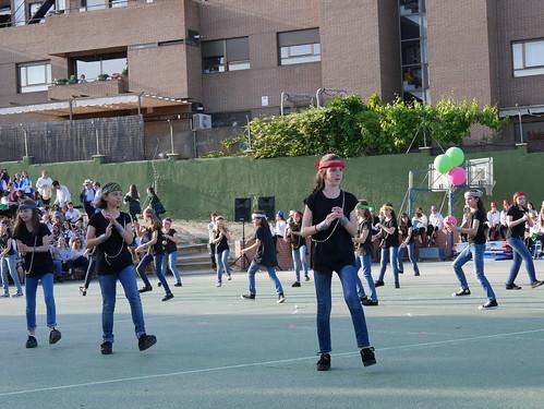Baile Primaria II, ESO y Bach - FFC 2018 (40 Aniversario de Orvalle)