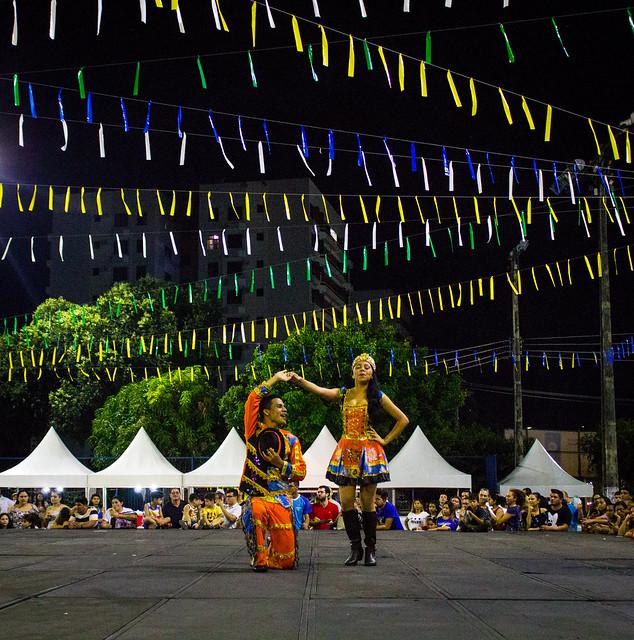08.06.2018. Abertura do 38º Festival Folclórico do Centro Social Urbano do Parque 10