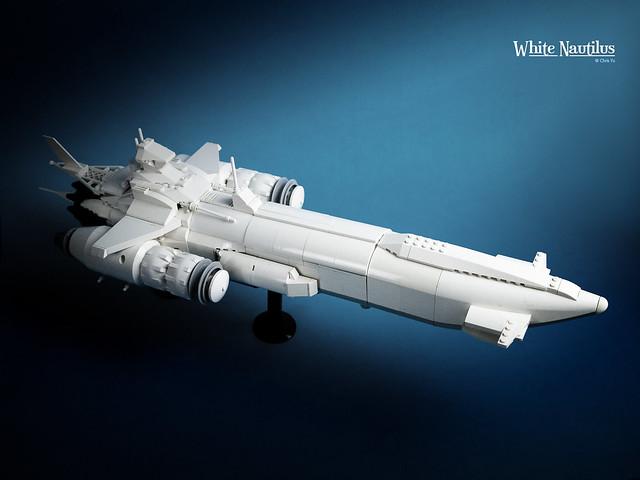 LEGO White Nautilus