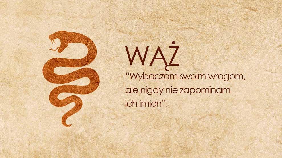 Horoskop chiński Wąż