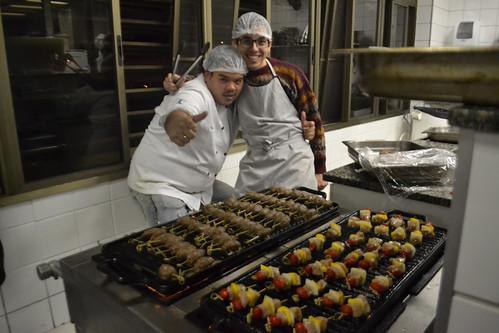 Cozinhas da Copa do Mundo 2018. Apresentação de PAPs (Projetos de Ação Profissionalizante) do curso de Gastronomia 3. semestre, 23 e 24 de maio,Campus Planalto