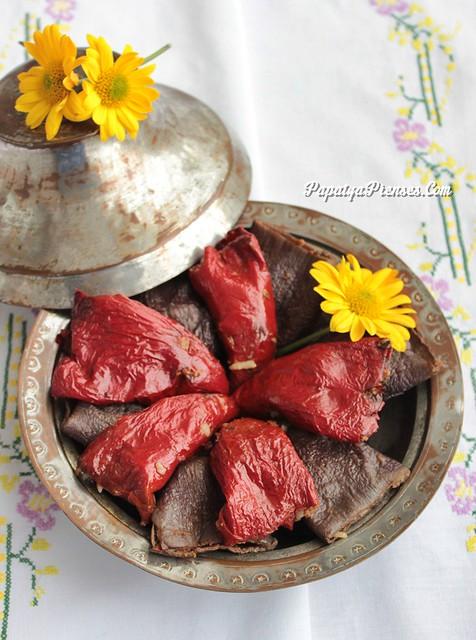 kuru patlıcan biber dolması (5)