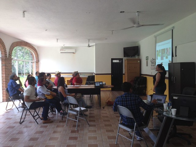 Especies exóticas-invasoras. Dra. Ana Isabel González, CONABIO (Yautepec)