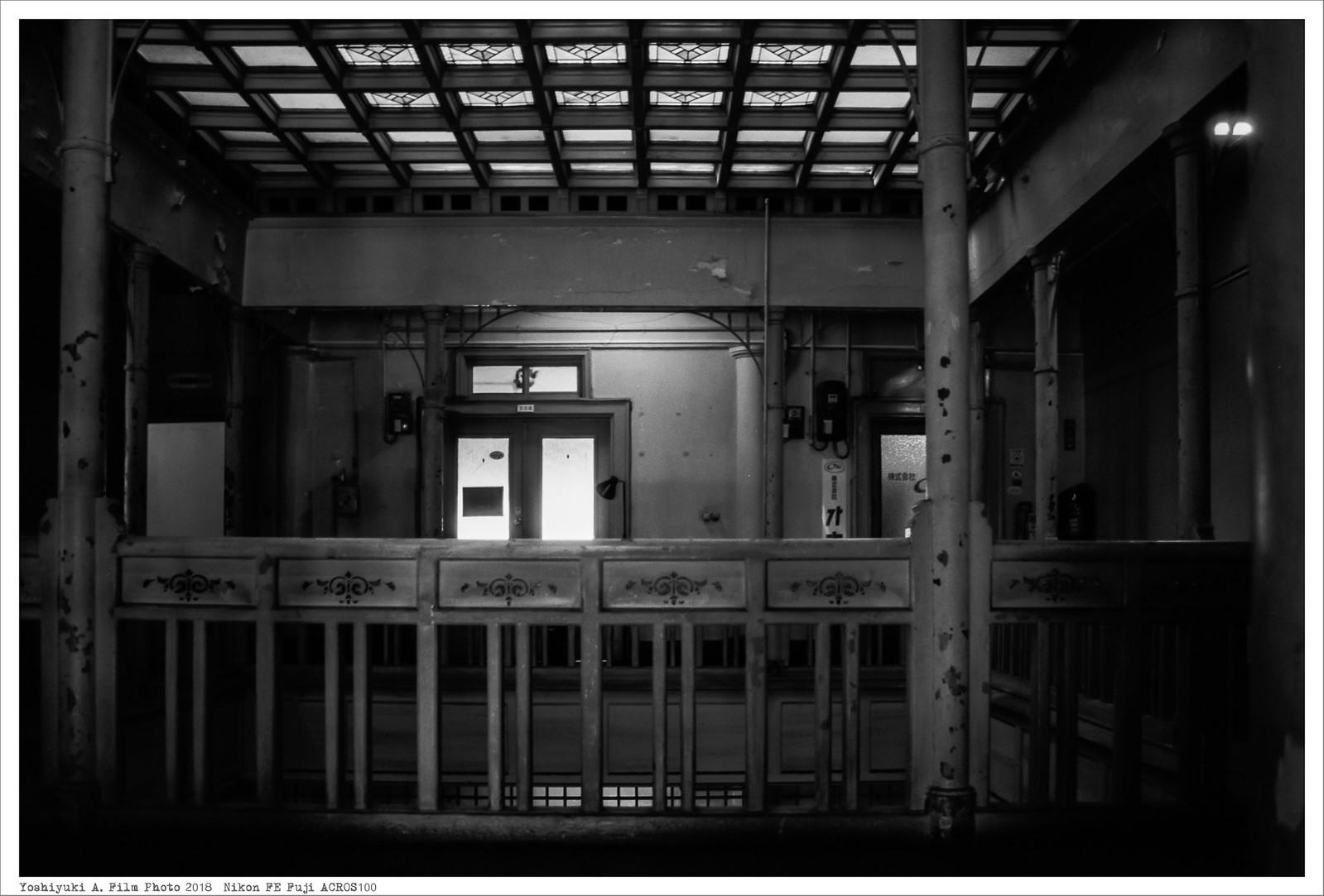 北九州市若松区 上野海運 Nikon_FE_Fuji_Acros100__73