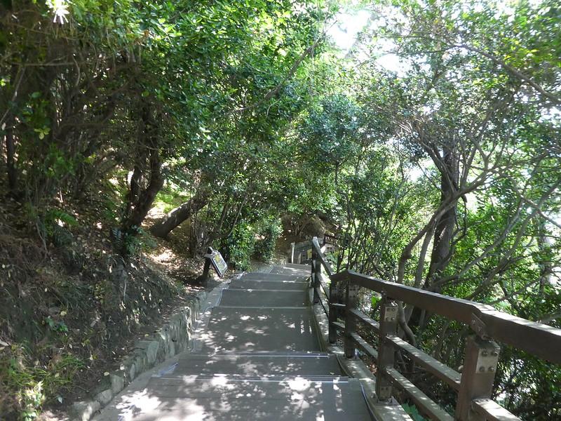 Path to Yeongdo lighthouse., Busan