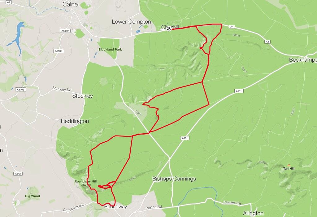 Cherhill Map