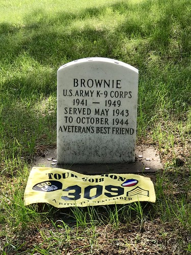 06-17-2018 Ride Tour of Honor War Dog - Brownie