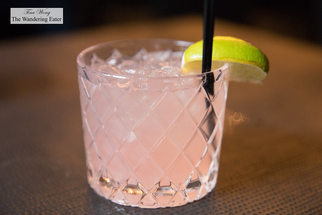 Summer Rose - Citrus vodka, watermelon, rose, pomegranate cordial, lime and soda