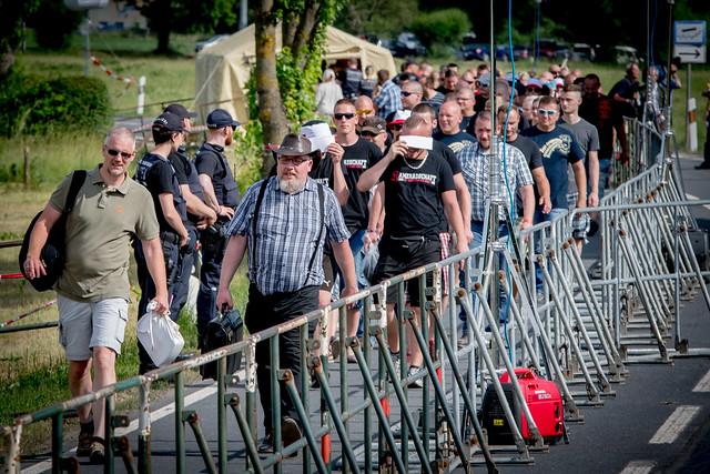 "Rechtsrock-Festival ""Tage der nationalen Bewegung"" Themar"