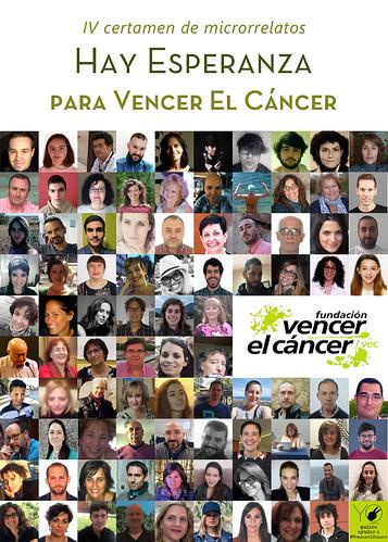 """Libro IV Certamen de Microrrelatos """"Hay Esperanza"""" de Vencer el Cáncer"""