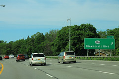 NY590 North - Exit 7 - NY286