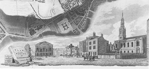 Clerkenwell Green north-west 1813