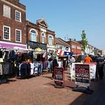 The saturday street market Gillingham High St [S]
