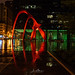 Calder's Flamingo at Night