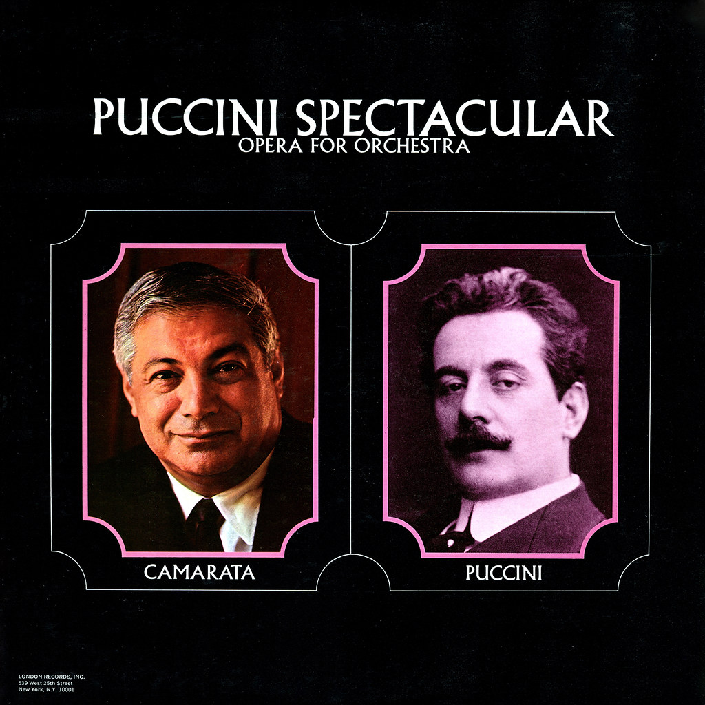 Tutti Camarata - Puccini Spectacular