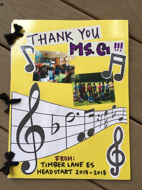 Selections from a book of pictures and notes from Miss Danielle's 2017-2018 school year Head Start PreK class at Timber Lane Elementary School.