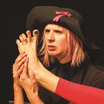 Valérie Descamps « Conte sensoriel pour les oreilles et les orteils »