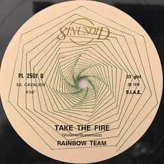 RAINBOW TEAM:COME TO THE RAINBOW(LABEL SIDE-B)