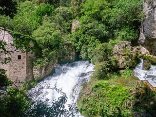 Austritt der Vis an den Moulins de la Foux
