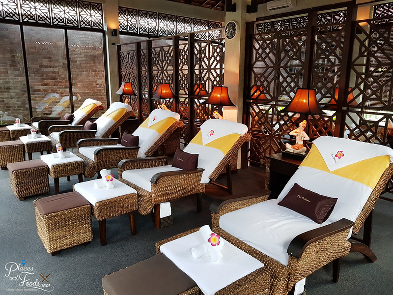 thai odyssey bandung foot massage area