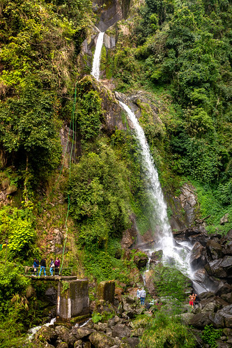 sikkimindia2018 waterfall sikkim india in