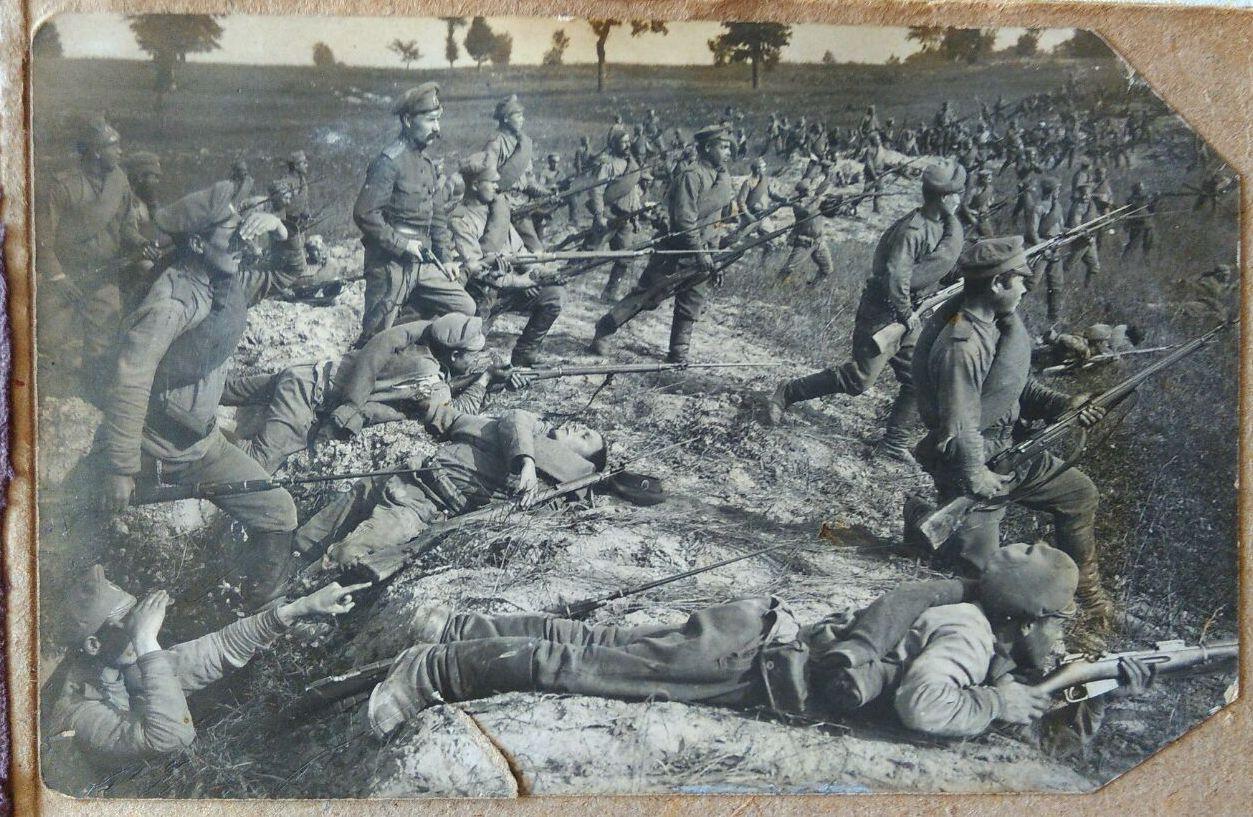 1916. КОЛЫВАНСКИЙ 40-Й ПЕХОТНЫЙ ПОЛК
