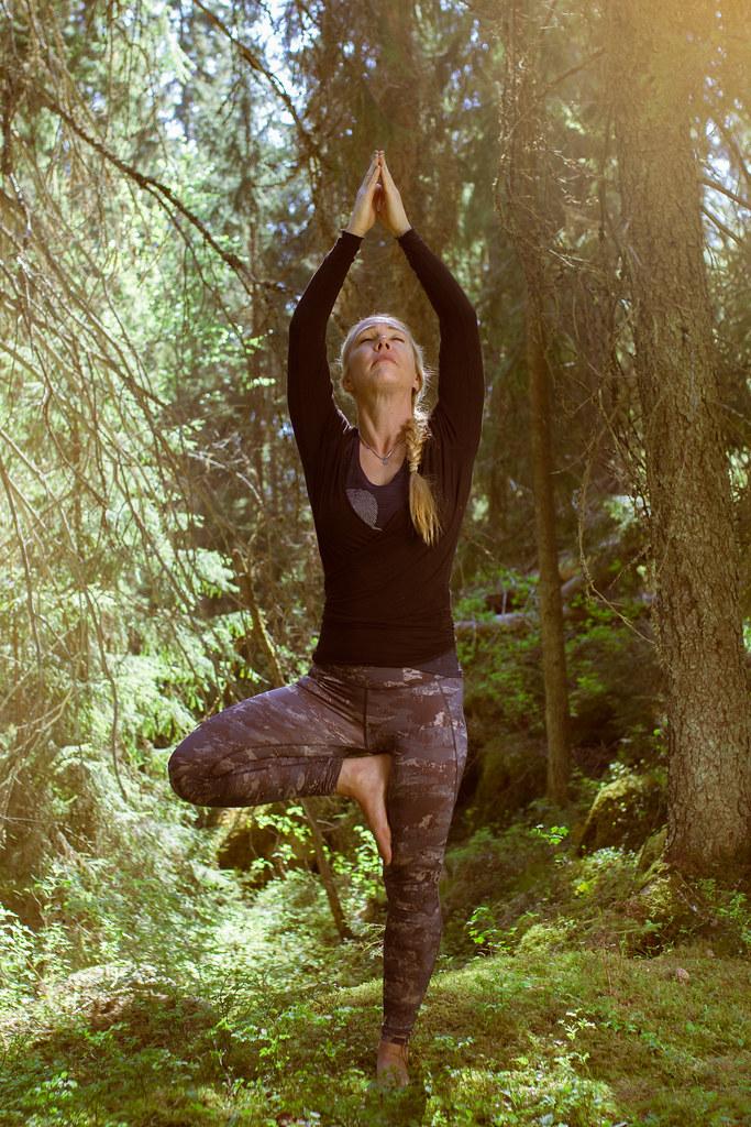 Metsäjooga / Forest yoga