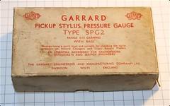 Garrard Stylus Pressure Gauge SPG2 with base