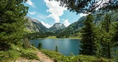 Idylická horská jezera