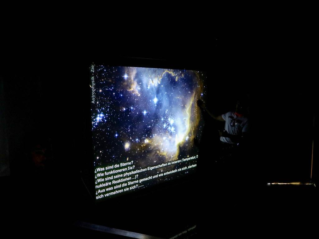 Explicación en el observatorio