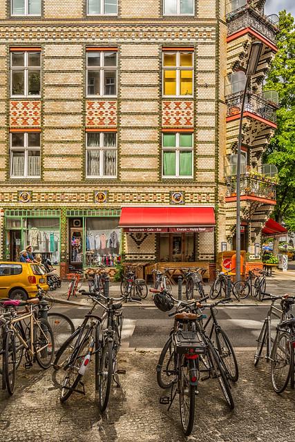 Berlin-Schöneberg Street Corner