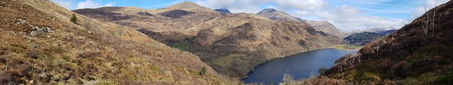 Llyn Dinas,Snowdonia National Park,Gwynedd,North Wales.