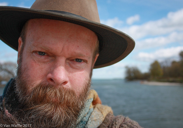 Self-portrait, Prince Edward County, 2011