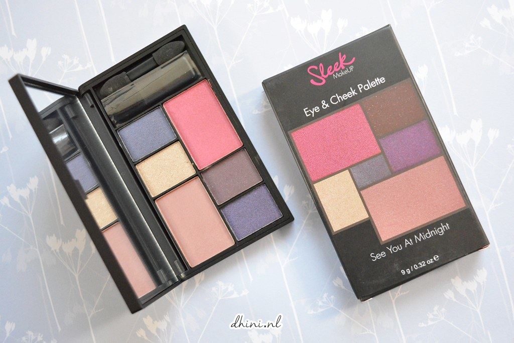 "Sleek Eyes Eye & Cheek Palette ""See You At Midnight"""