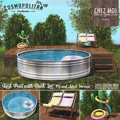 Tank Pool w Dock CHEZ MOI
