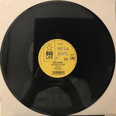 DE LA SOUL:EYE KNOW(RECORD SIDE-A)