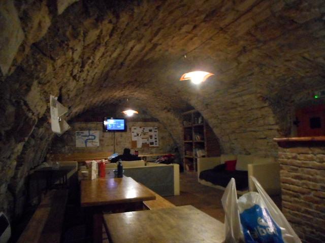 Prague Cellar of Hostel, Nikon COOLPIX S3600