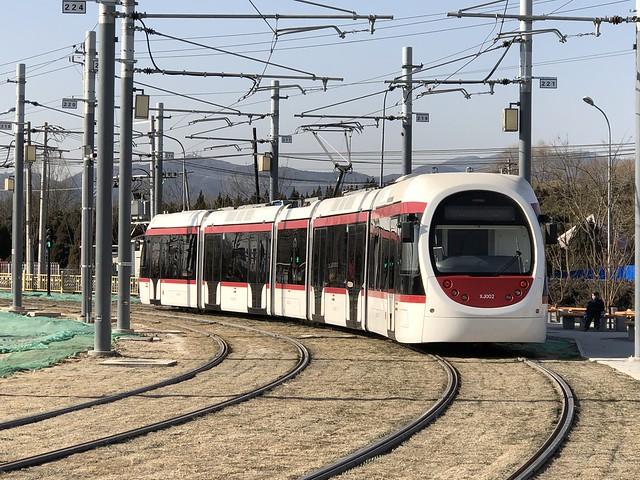 Beijing Tram XJ002