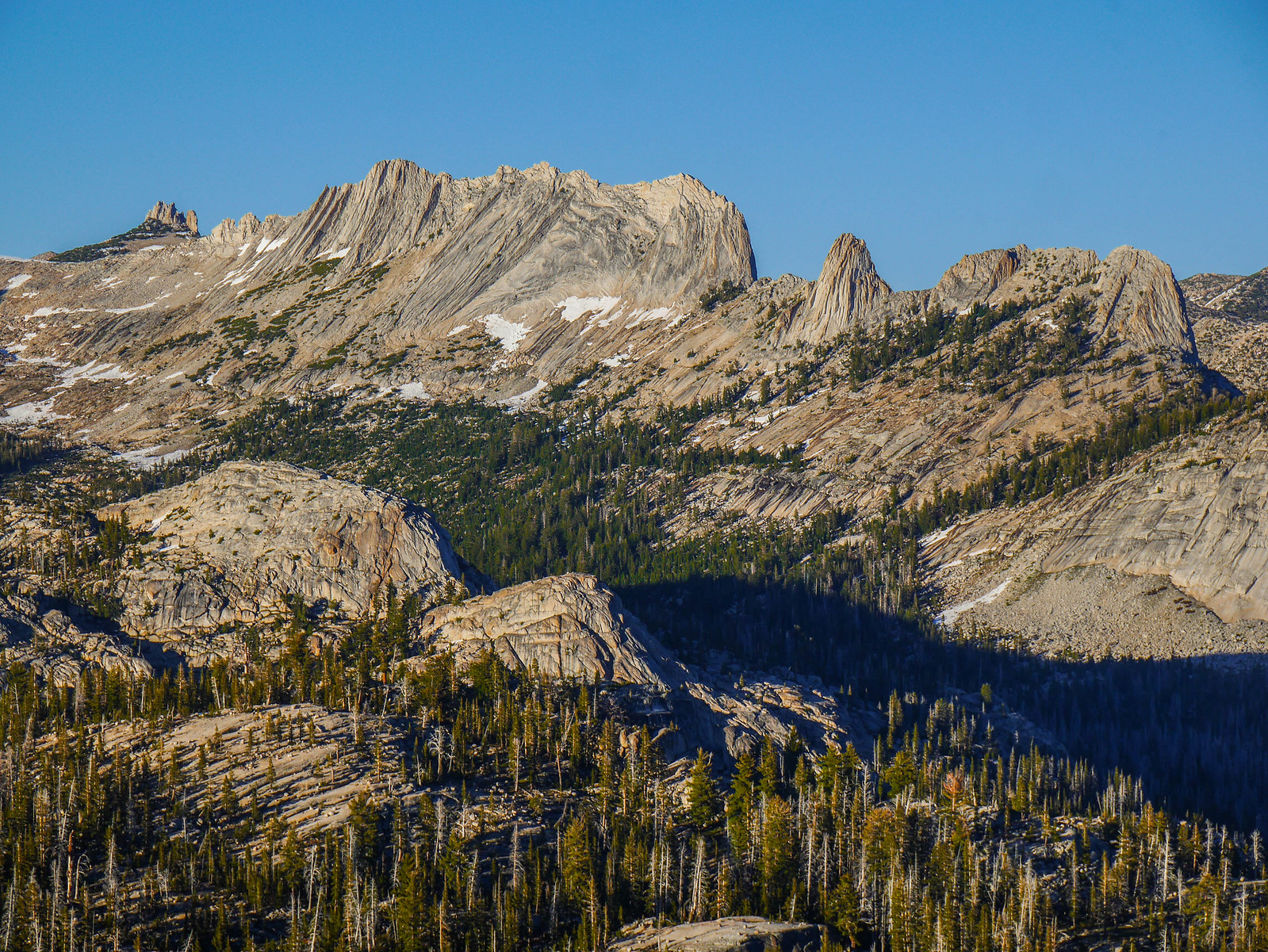 Cockscomb, Matthes Crest from Sunrise Peak