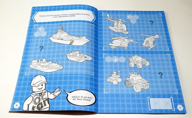 LEGO® City. 1001 naklejek. Supermaszyny (2)