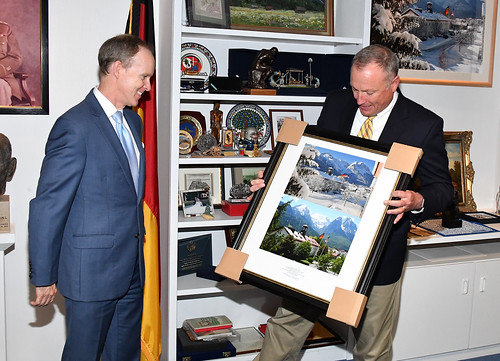 Thank You and Farewell: Ambassador Douglas Griffiths
